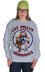 Свитшот Во Все Тяжкие. Лос Полос Германос | Los Pollos Hermanos