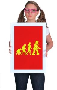 Постер  Эволюция робота | Rоbot evolution