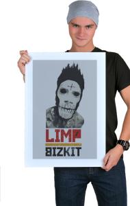 "Постер ""Лимп Бизкит"" Арт | ""Limp Bizkit"" Art"