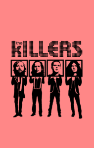 Постер Зе Киллерс | The Killers