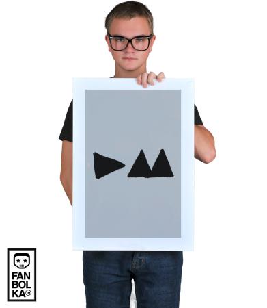 Постер Депеш Мод Дельта-Машина   Depeche Mode Delta Machine