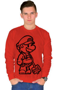 Свитшот Супер Марио | Super Mario