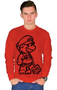 Свитшот Супер Марио   Super Mario