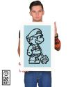 Плакат Супер Марио