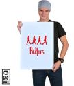 Плакат Битлз четверка