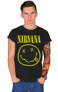 Футболка Нирвана Смайл | Nirvana Smile