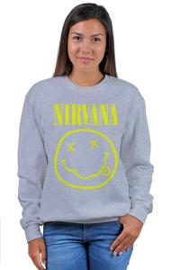 Свитшот Нирвана Смайл | Nirvana Smile