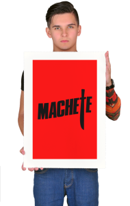 Постер Тарантино Мачете | Tarantino Machete