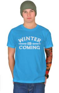 Футболка Зима надвигается | Game of Thrones. Winter is coming
