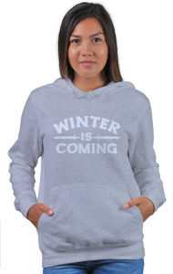 Худи Зима надвигается | Game of Thrones. Winter is coming