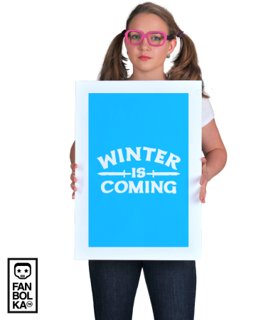 Постер Зима надвигается | Game of Thrones. Winter is coming