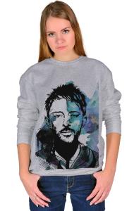 Свитшот Том Йорк. Радиохед 2   Thom Yorke. Radiohead 2