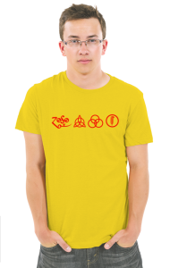 Футболка Лед Зеппелин. Символы | Led Zeppelin. Symbols