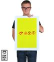 Постер Лед Зеппелин. Символы