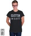 Футболка Лед Зеппелин лого и символы