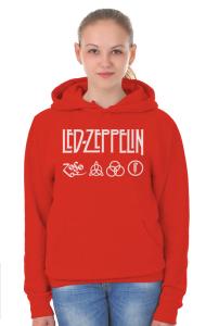 Худи Лед Зеппелин лого и символы   Led Zeppelin logo symbols
