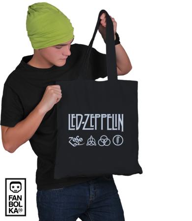 Сумка Лед Зеппелин лого и символы | Led Zeppelin logo symbols
