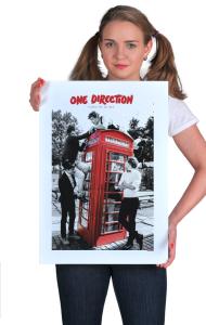 Постер Ван Дирекшн- Забери меня домой | One Direction-Take me home