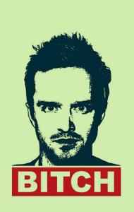 Постер Джесси Пинкман | Breaking Bad. Jesse Pinkman Bitch