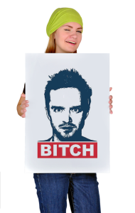Постер Джесси Пинкман | Breaking Bad. Jesse Pinkman Bitch