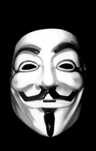 Постер Маска Гая Фокса, Анонимуса | Guy Fawkes, Anonymous Mask