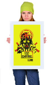 Постер Гребаная Империя | Fuck the Empire