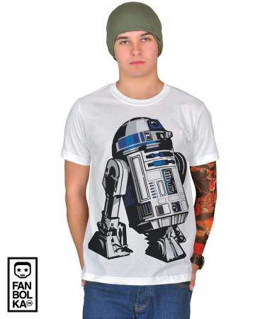Футболка Астромеханический Дроид Р2Д2   Astromech Droid R2-D2