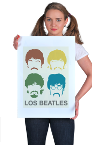 Постер Лос Битлз | Los Beatles