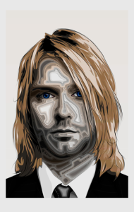 Постер Нирвана. Курт | Nirvana. Kurt