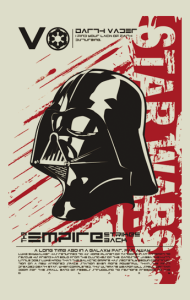 Постер Дарт Вейдер. Звездные Войны | Darth Vader. Star Wars
