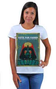Футболка Голосуй за Дарта Вейдера | Vote For Vader