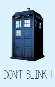 Постер Доктор Кто. Не моргай | Doctor Who. Don`t blink