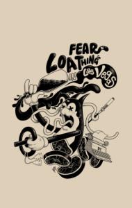 Постер Страх и ненависть в Лас-Вегасе | Fear and Loathing  Сover Book