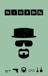 "Постер ""Во Все Тяжкие. Хайзенберг"" №2 | Breaking Bad. Heisenberg"" #2"