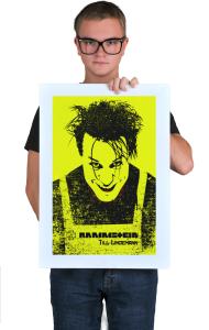 Постер Рамштайн Тилль Линдеманн |  Rammstein Till Lindemann