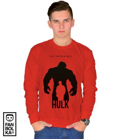 Свитшот Халк-Супер герой   Hulk-Super Hero