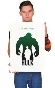 Постер Халк-Супер герой   Hulk-Super Hero
