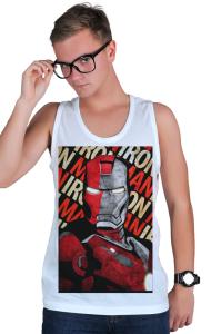Футболка Железный Человек - Сталь   Iron Man