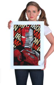 Постер Железный Человек - Сталь | Iron Man