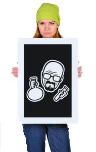 Постер Уолтер Уайт Учитель химии | Walter White chemistry teacher