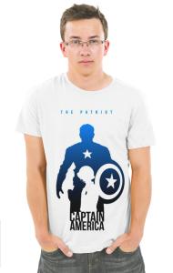 Футболка Капитан Америка-Патриот | Captain America Patriot