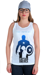 Футболка Капитан Америка-Патриот   Captain America Patriot