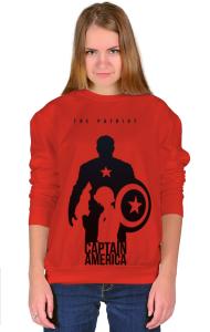 Свитшот Капитан Америка-Патриот | Captain America Patriot