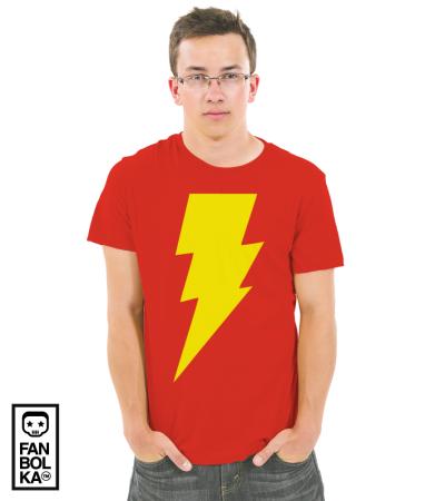 Футболка Теория Большого Взрыва Флеш   The Big Bang Theory Flash