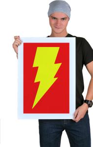 Постер Теория Большого Взрыва Флеш   The Big Bang Theory Flash
