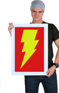Постер Теория Большого Взрыва Флеш | The Big Bang Theory Flash