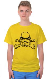 "Футболка Штурмовик ""Веселый Роджер"" | Star Wars. Stormtrooper. ""Jolly Roger"""