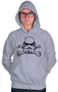 "Худи Штурмовик ""Веселый Роджер"" | Star Wars. Stormtrooper. ""Jolly Roger"""