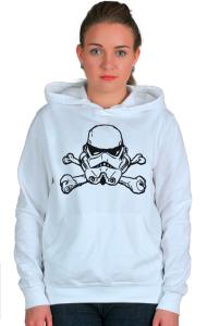 "Худи Штурмовик ""Веселый Роджер""   Star Wars. Stormtrooper. ""Jolly Roger"""