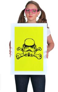 "Постер Штурмовик ""Веселый Роджер"" | Star Wars. Stormtrooper. ""Jolly Roger"""